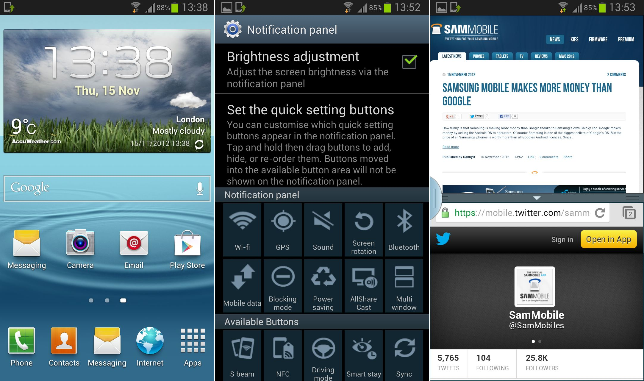 Android 4 2 samsung galaxy s3