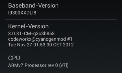 Android 4.2-based CM 10.1 ROM boots up on Samsung Galaxy S3, no downloads yet though