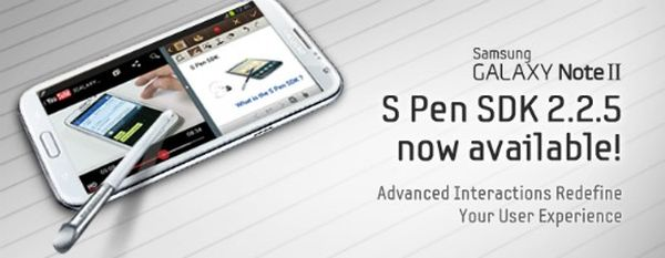 S Pen SDK 2.2.5 announced by Samsung