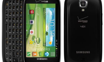 Samsung Stratosphere 2 image leaks on Twitter, shows off its Menu key!