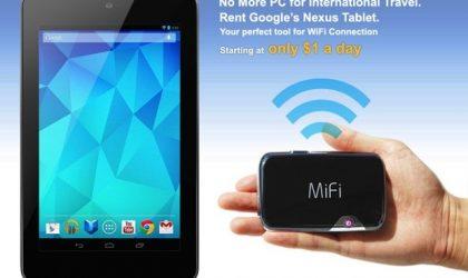 Rent Nexus 7 and Nexus 10 via Xcom for just $1 per day