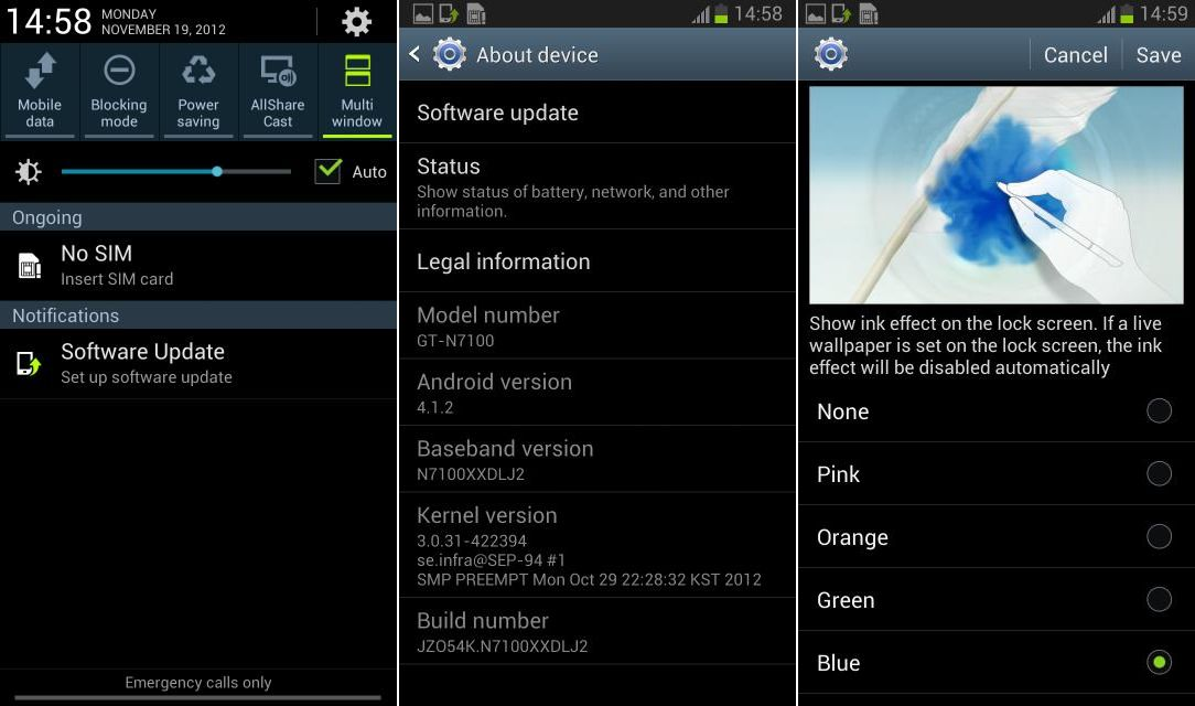Update galaxy note 2 with n7100xxuenc1 android 4. 3 stock firmware.