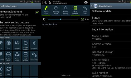 Samsung Galaxy Note gets another Jelly Bean firmware leaked — XXLSA