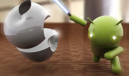 Android overtakes Apple in Australia, with 44% market share.