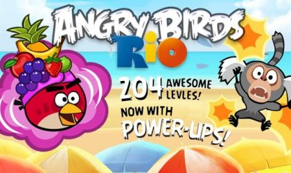 Angry Birds Rio Update brings 24 New Levels and New Power Ups: Samba Burst and TNT Drop!