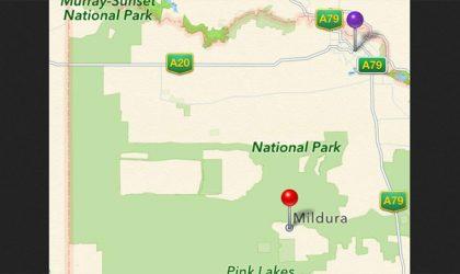 Apple Maps lands Australian motorists in the wild, 40 miles off target!