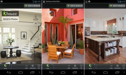 Houzz Android App launched on Play Store