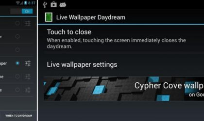 Use any Live Wallpaper as your Daydream feed. Android 4.2 only though.