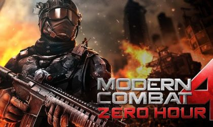 Modern Combat 4: Zero Hour has landed! Get it from the Play Store.