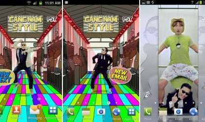 Go Gangnam Style on your phone. Get the official PSY Live Wallpaper and Ringtone for Android.
