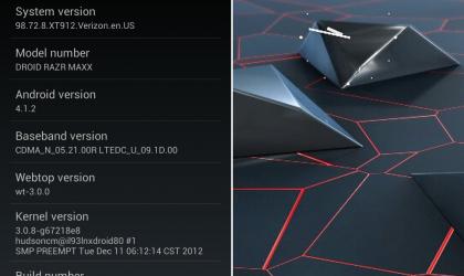 Manually Install Android 4.1 Jelly Bean Update on Motorola Droid RAZR (and MAXX) CDMA