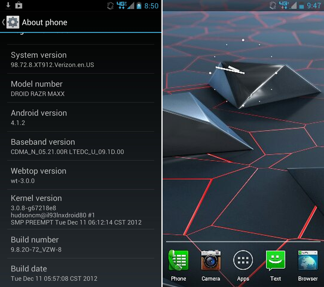 manually install android 4 1 jelly bean update on motorola droid rh theandroidsoul com Next Android Operating System Ice Cream Sandwich Android