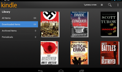 Convert any ebook for use with the Kindle Android app on the Nexus 7