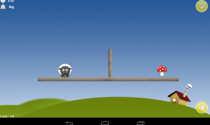 Gravity Sheep – Test your skills with this cute but challenging gravity physics game