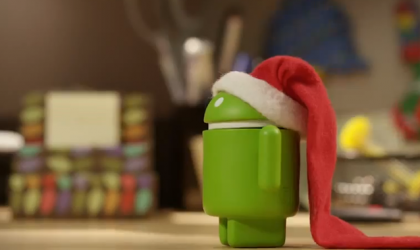 Google and Team Android wish everyone Happy Holidays through a cute new video!