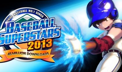 Baseball Superstars 2013 launched for Android