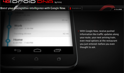 Images of the Droid DNA on Verizon website show onscreen navigation keys and 0.49 Mbps download speeds!