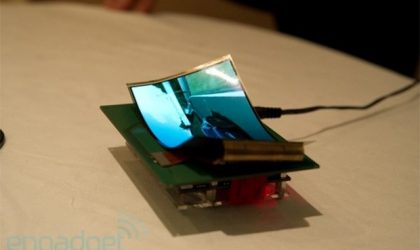 Samsung to exhibit 5.5-inch Flexible Display at CES 2013
