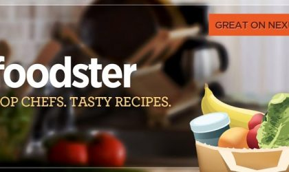 Stoke your foodie instincts with the Foodster app.