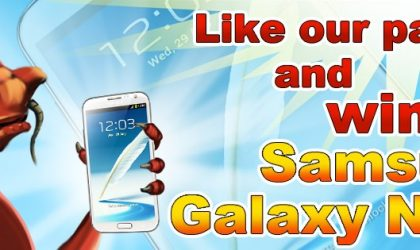 Chance to Win a Free Galaxy Note 2 from HeroCraft at their birthday celebrations on Dec 17th.