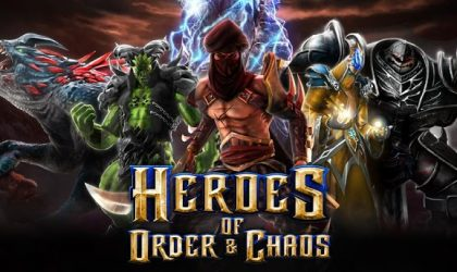 Gameloft's Heroes Of Order & Chaos arrives on Google Play Store.