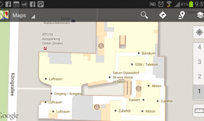 Indoor Google Maps now available in Germany.