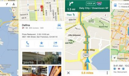 Native Google Maps returning to iOS tonight with voice guided turn-by-turn navigation and Street View.