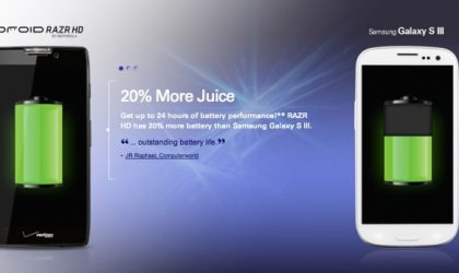 Motorola releases ad attacking Samsung's Galaxy S3
