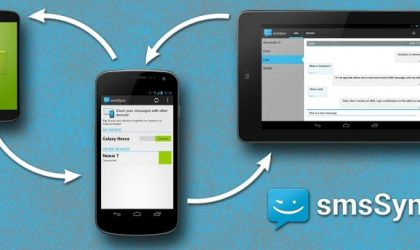 Send and Receive SMS messages on your Android Tablet using smsSync Android app