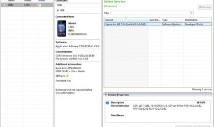 Official Sony Flash tool released for flashing firmware on your unlocked Xperia Devices [Download]