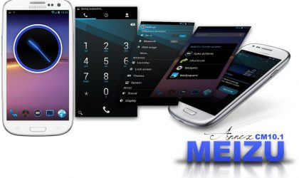 Meizu theme for your CM10/AOKP running Android device
