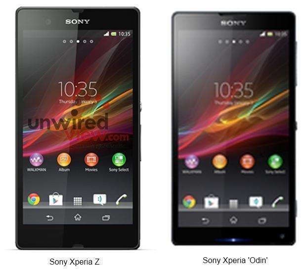 Sony Xperia Z and Odin Pics