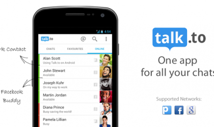 Talk.to Google and Facebook Chat App – Why I love using it