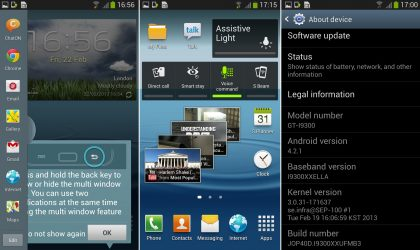 Samsung Galaxy S3 Android 4.2.1 Firmware leaked – I9300XXUFMB3