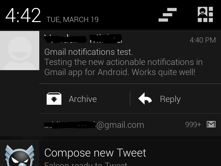 Delete Gmail from The Notifications Bar Post