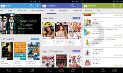 Google Play Store App getting a makeover with version 4.0 [Preview]