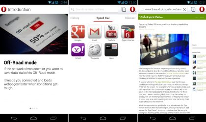 WebKit-based Opera Browser Beta released for Android
