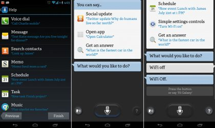 New S Voice app from Galaxy S4