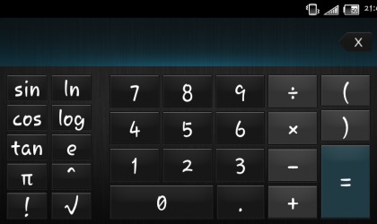 Get the Sony Xperia Z Calculator App for your Xperia device