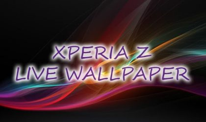 Sony Xperia Z Live Wallpaper is one cool LWP for your Android phone