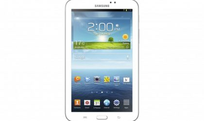 Samsung announces Galaxy Tab 3 7.0: More of the same, but Android 4.1 out of the box