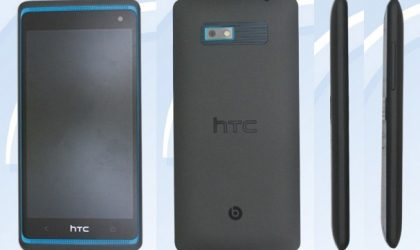 "Picture and Specs of HTC ""606w"" leaked, has dual front speakers like the One"