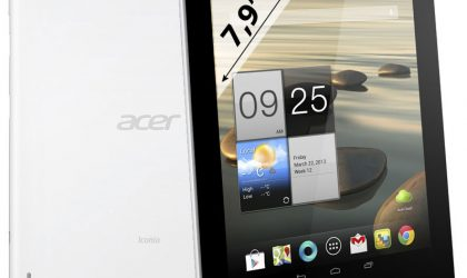 Acer Iconia A1 Images leaked, quad-core tablet to compete with iPad Mini