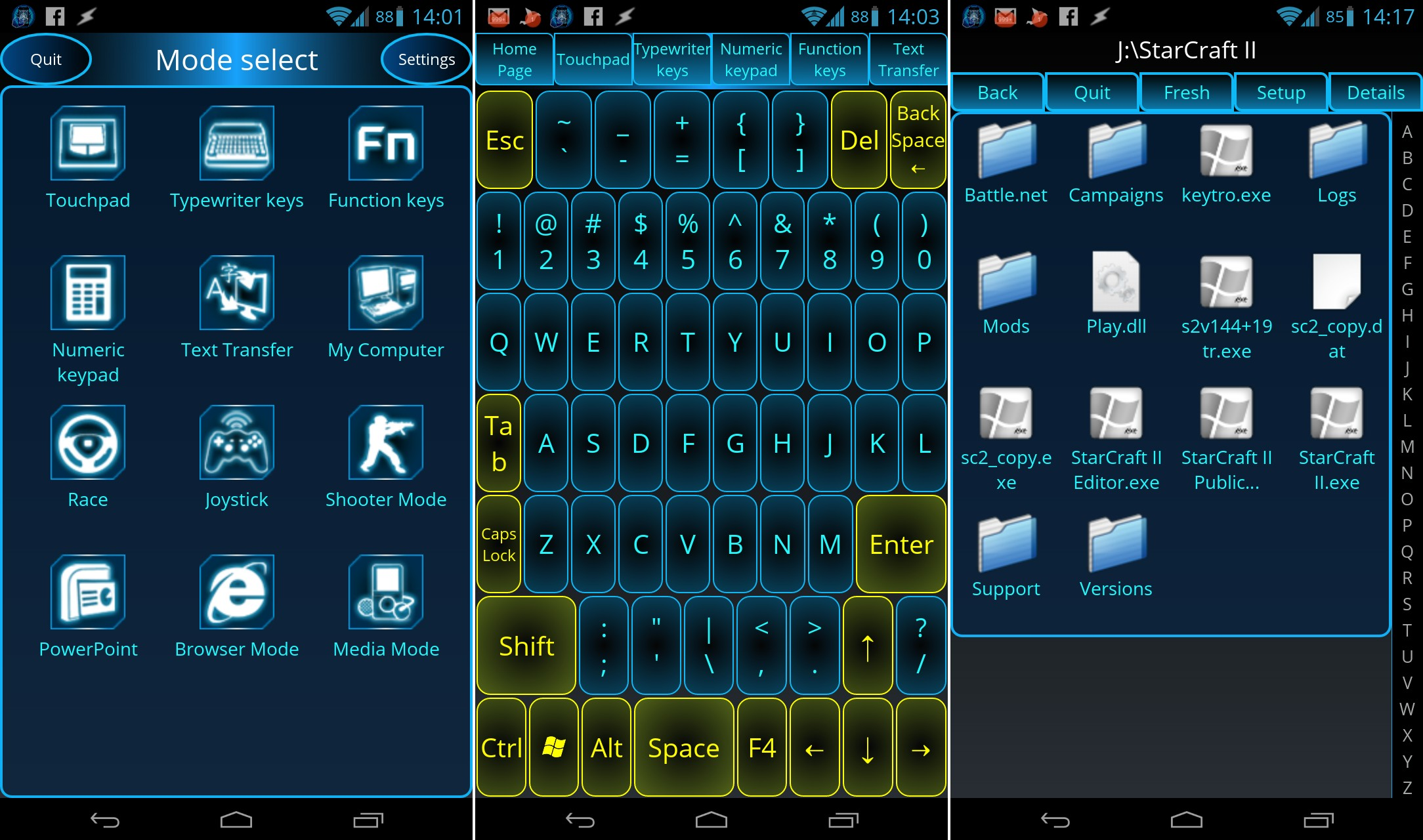 Control your PC from your Android device with Monect