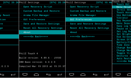 Philz Touch ClockworkMod Recovery for Nexus 4