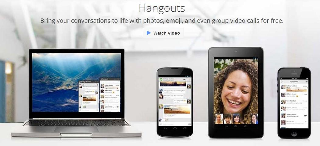 Google Hangouts Application