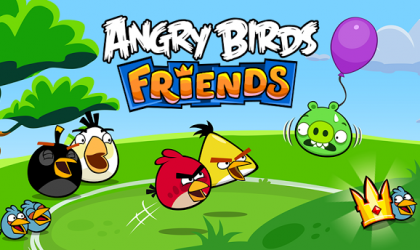 Angry Birds Friends released for Android, lets you compete with your Facebook friends