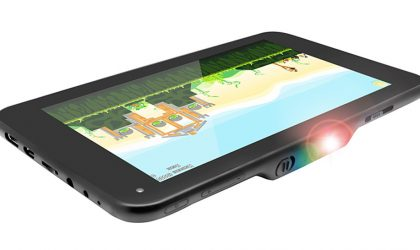 lumiTab is world's first tablet with inbuilt projector