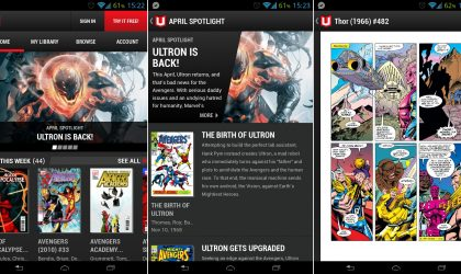 Marvel Unlimited app released for Android