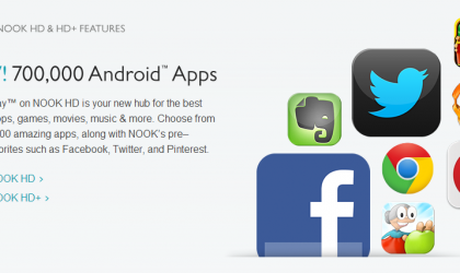 Barnes and Noble Nook HD and HD+ update to add Google Play Store support